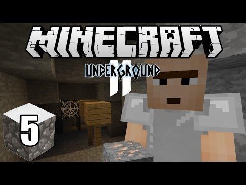 Minecraft Indonesia - Underground 2 : Iron Pembawa Keberuntungan! (5)