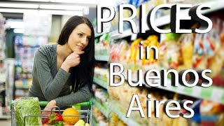 Prices in Argentina| Buenos Aires