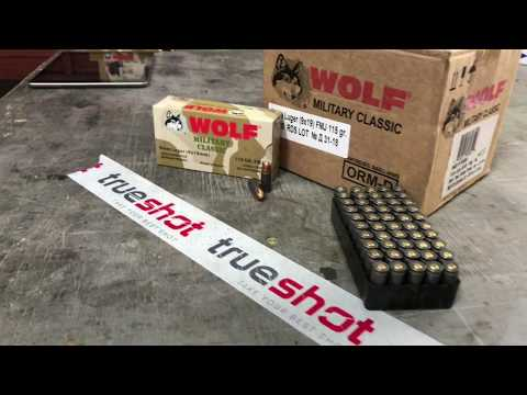 Wolf Military Classic 9mm Ammo Review