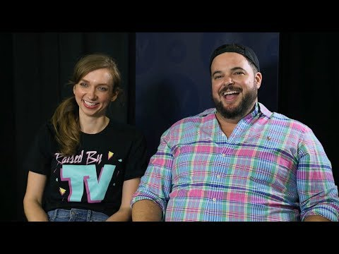 Lauren Lapkus and Jon Gabrus discuss their new nostalgia-loaded podcast