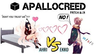 Apallocreed | Ekko vs Ahri mid Ranked Patch 8.13