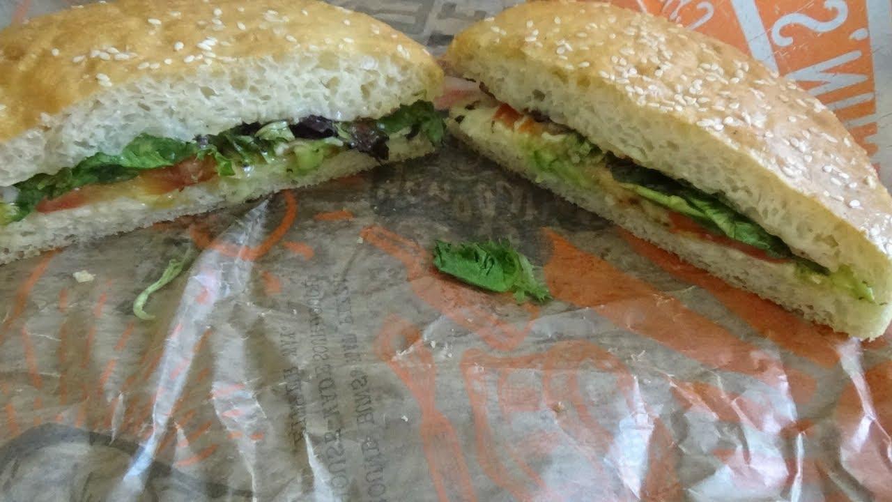 Schlotzskys New Veggie Avocado Smokecheesy Youtube