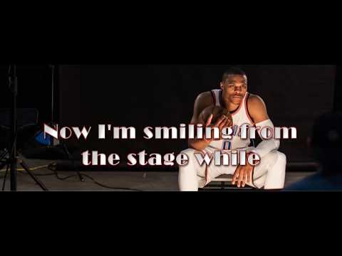Thunder by Imagine Dragons Lyrics video featuring RUSSEL WESTBROOK THUNDER