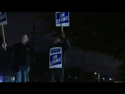 UAW Strike Continues On As Talks Heat Up