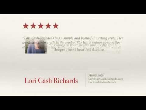 Lori Cash Richards - REVIEWS - Author of Letting the Upside In Reviews
