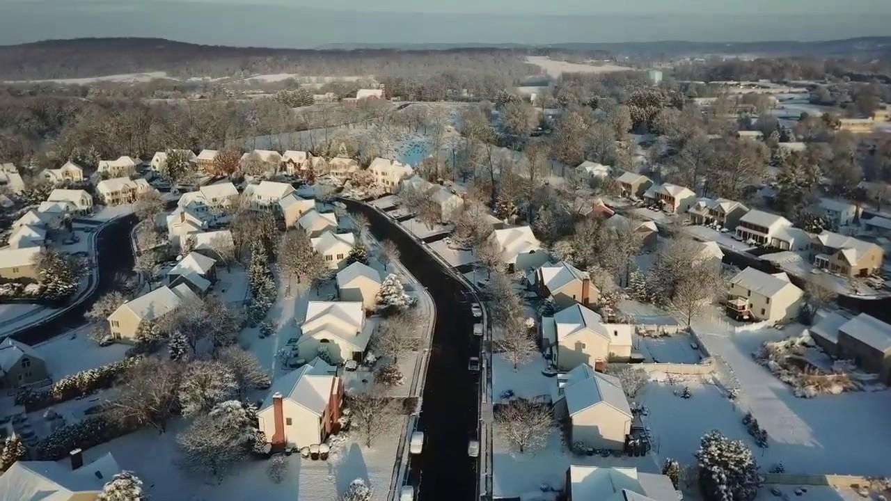 Dec 10 2017 First snow flight!