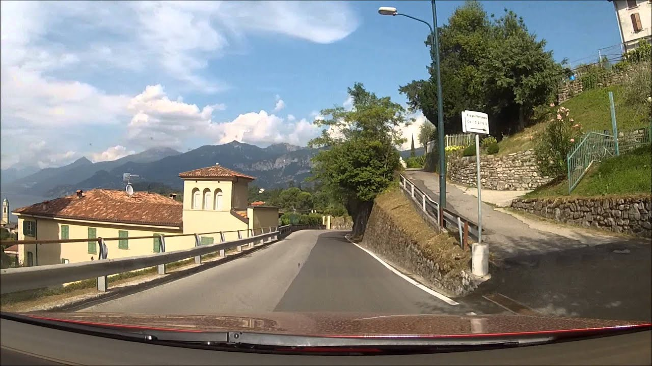 Bellagio - from Borgo Le Terrazze to La Colombina. - YouTube