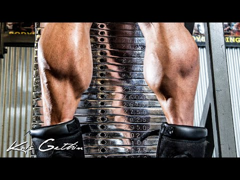 how to grow your calves