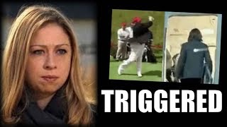 AFTER EPIC TRUMP TRIGGERING CHELSEA BREAKS SILENCE THEN THE INTERNET DESTROYS HER