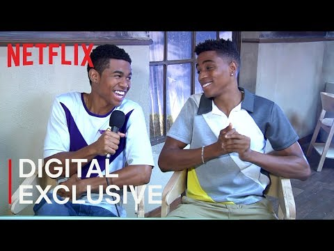 BJ Mitchell and Chris O'Neal Interview | Greenhouse Academy | Netflix