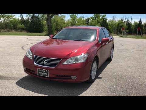 1 year review on my 2009 Lexus ES 350