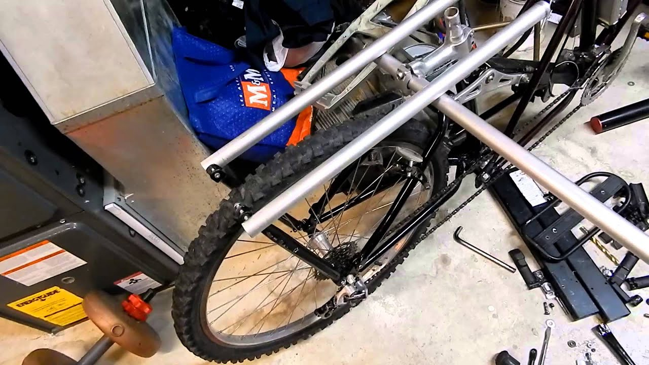 Diy Xtracycle From Parts Bike Winter Project P4 Cargo Rack