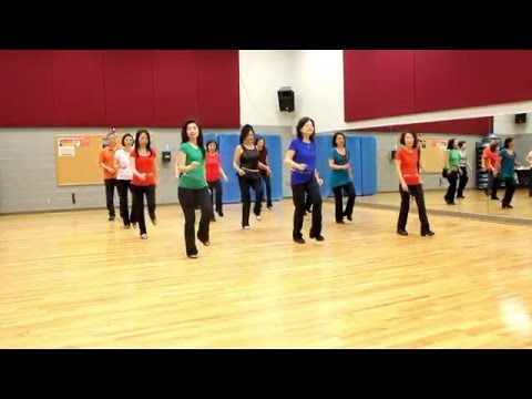 Rain - Line Dance (Dance & Teach in English & 中文