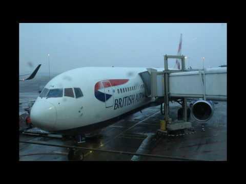 ONBOARD[FOG]- British Airways B767 BA429 Amsterdam Schiphol to London Heathrow (FULL FLIGHT)