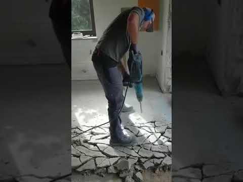 Arbeitshosen StrongAnt Berlin Pro Grau Schwarz  Im Einsatz Auf Der Baustelle
