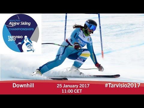 Downhill | 2017 World Para Alpine Skiing Championships, Tarvisio