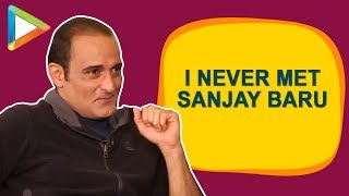 """""""The Accidental Prime Minister will HIT you, but It's a very SWEET HIT"""": Akshaye Khanna"""