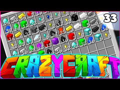 "Minecraft CRAZY CRAFT 3.0 SMP - ""I'M FINALLY DOING IT"" - Episode 33"