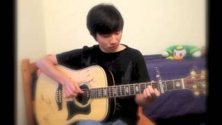 「Itazura na Kiss ~ Love in TOKYO」 interlude(Fingerstyle version)By Kevin Kang