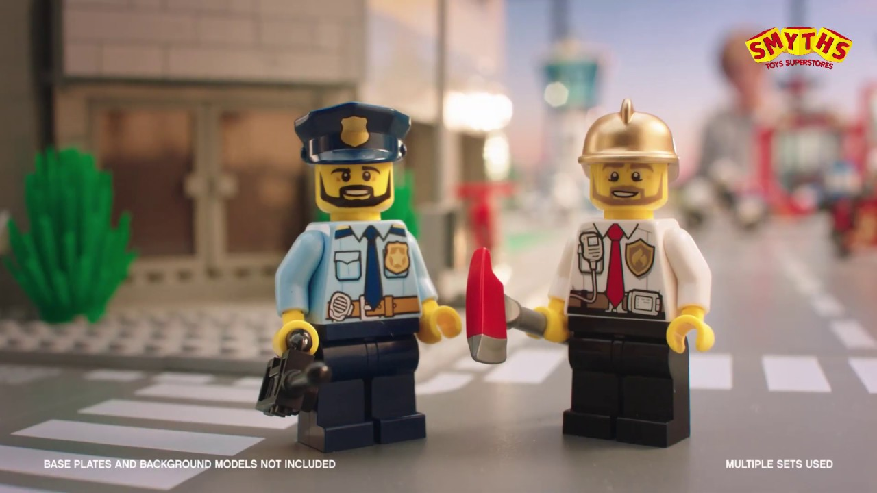 Lego City Fire Sky Police Smyths Toys Youtube
