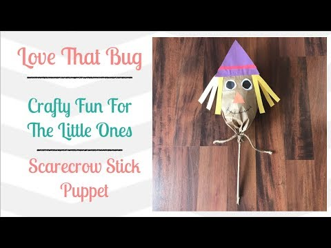 Toddler Tuesday | Scarecrow Puppet