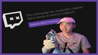 FULL VIDEO: RiceGum Banned on Twitch After Showing BB Gun! (w/ Chat)