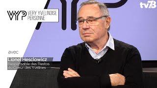 VYP. Lionel Hesclowicz, responsable des Restos du Coeur des Yvelines