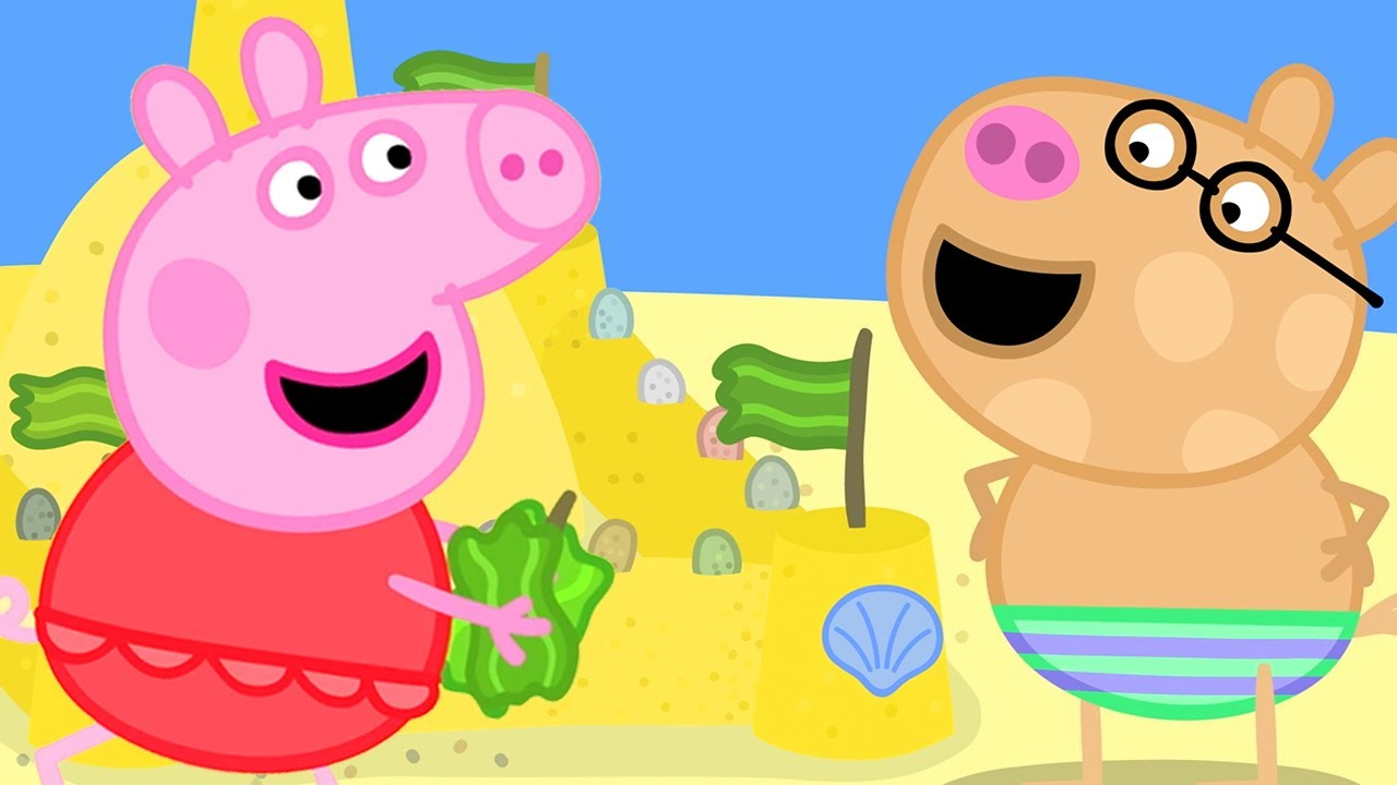 Download Peppa Pig Official Channel | Peppa Pig's Perfect Summer Sand Castle