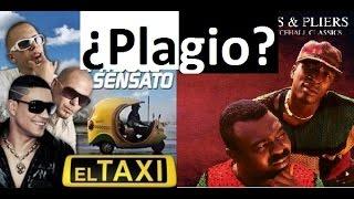 ¿Plagio? EL Taxi (2014) - Murder She Wrote 1993 Pitbull VS Chaka Demus Pliers Comparación plagiarism