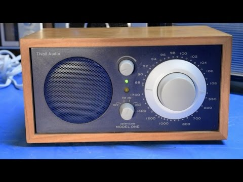Tivoli Audio Henry Kloss Model One Radio Overview And Band-S