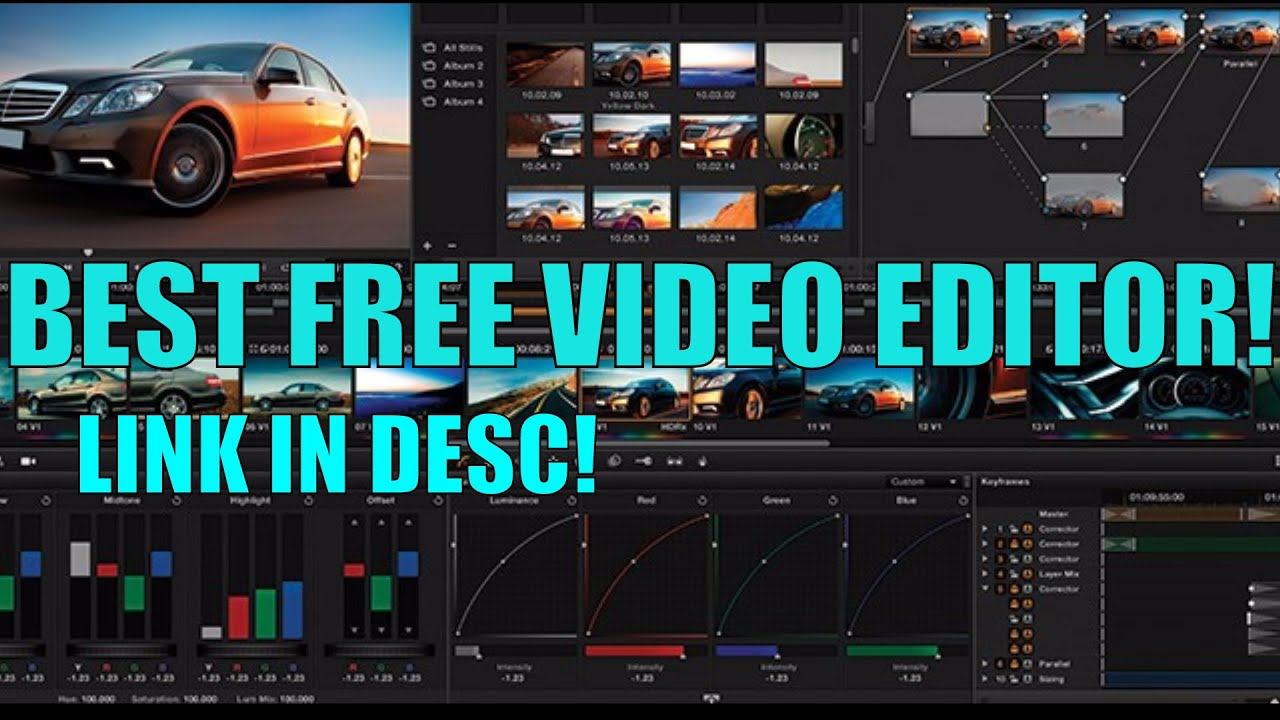 best free movie editor without watermark