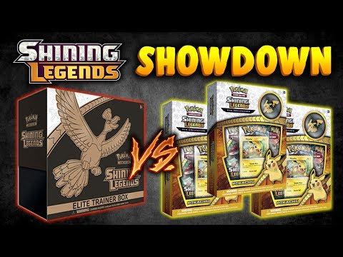 FINALLY Pulled it!! Pokemon Cards Shining Legends Showdown