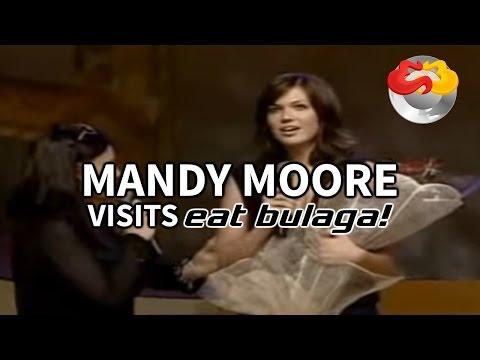Mandy Moore visits Eat Bulaga