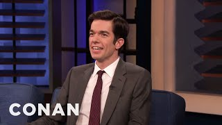 John Mulaney Was An Offputting & Strange Child - CONAN on TBS