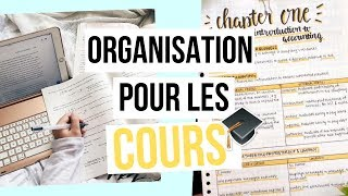 BACK TO SCHOOL#2 : MON ORGANISATION POUR LES COURS + CONCOURS!