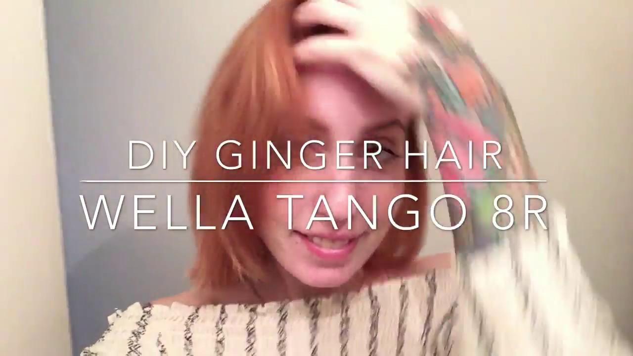Diy Ginger Hair Tutorial Wella Color Tango Youtube