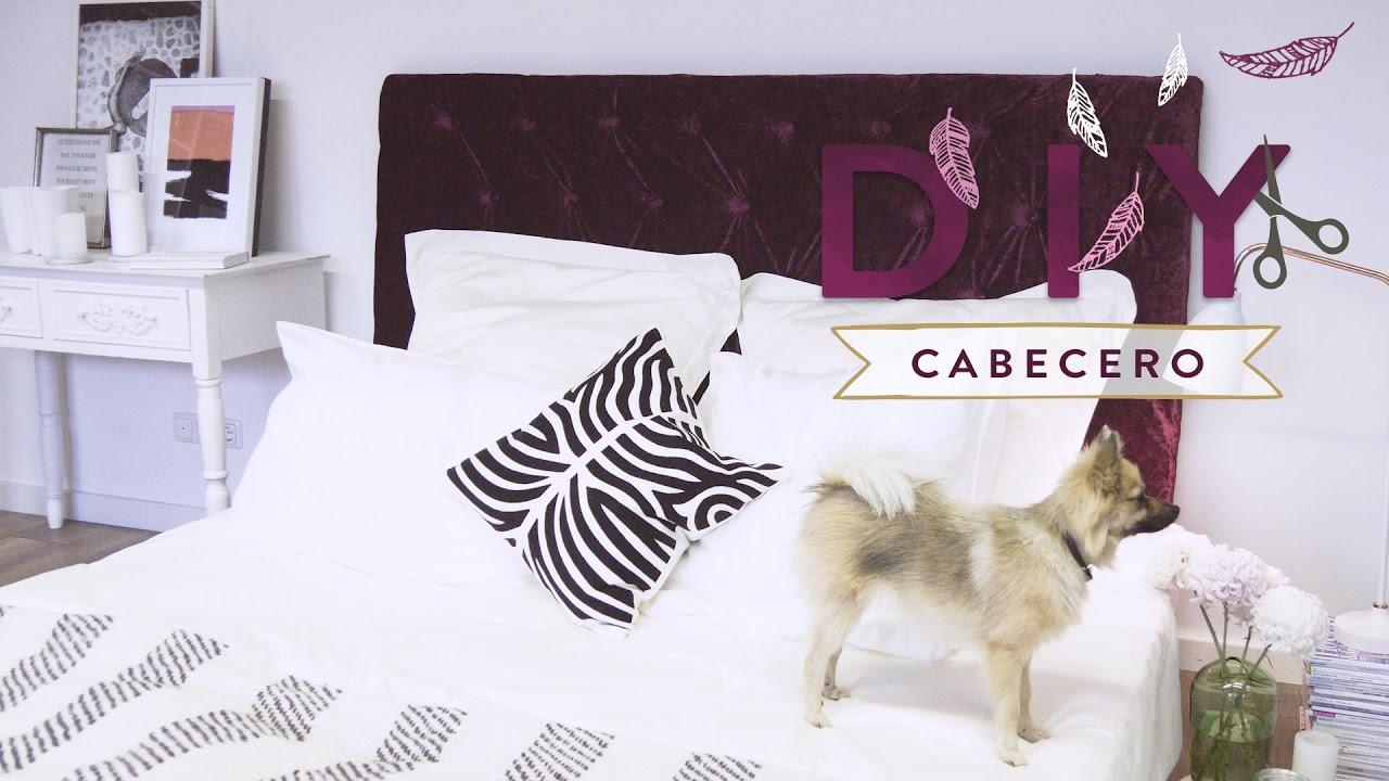 Cmo tapizar un cabecero de cama con tapizado capiton DIY