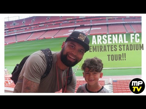 ARSENAL FC | EMIRATES STADIUM TOUR | MPTV