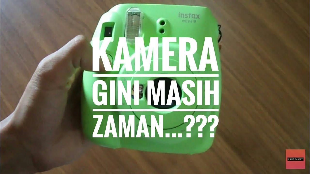 Fujifilm Instax Mini 9 Kamera Instan Unboxing Masih Ada Yang