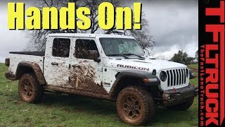 We Finally Get Our Hands on a New Jeep Gladiator & Get it Muddy: Here's What We Can Tell You Now!