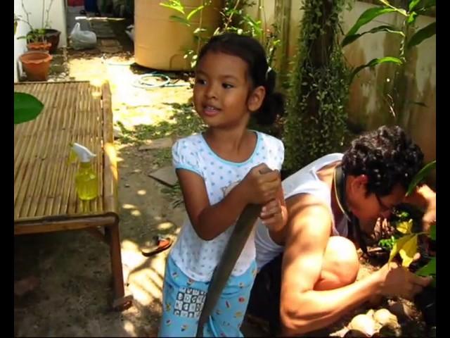 เด็ก 2 ภาษา หลังจากบทเรียนที่เข้มข้น