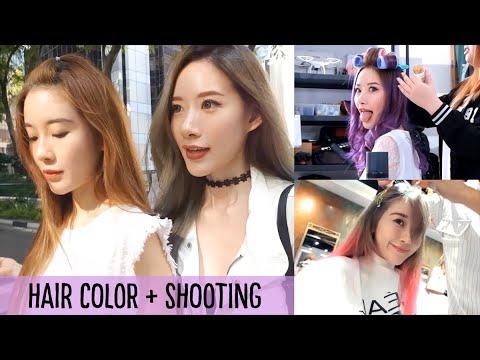 SG VLOG | New Hair Colors and BTS Shoot