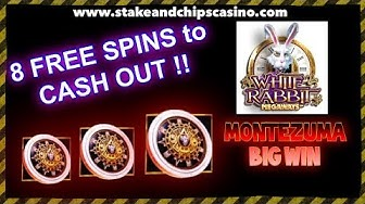 FREE SPINS to CASH OUT - BIG WIN !! MONTEZUMA ! SLOT🚨 CASINO BONUS