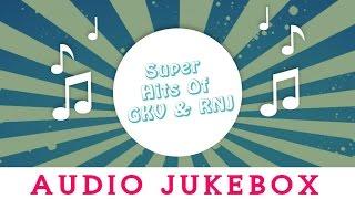 GK Venkatesh & RN Jayagopal Kannada Songs Jukebox   Evergreen Songs Collection   Top 10 Hits
