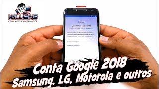 Como Remover Conta Google (FRP ) 2018 Motorola, Samsung, LG, Asus, Lenovo, Desbloquear, Restaurar