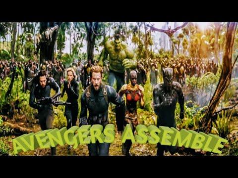 Marvel Studios' Avengers: Infinity War Official Trailer  [Reaction(gif)]