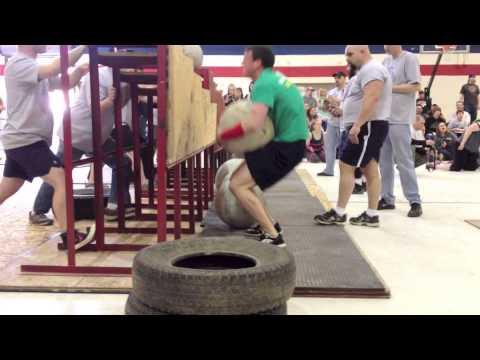 Chris Noonan • Maine StrongMan 6 • Event #5: Atlas Stone Series
