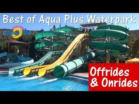 Best of Acqua Plus / Aqua Plus Waterpark (Crete) - Offride & Onride (All slides) - Full HD