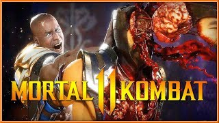 MORTAL KOMBAT 11 - Official Geras Gameplay Reveal Trailer 2019 (Switch, PC, PS4 & XB1) HD
