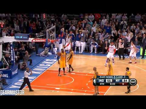 New York Knicks' 33-13 run vs Pacers Full Highlights (2013 ECSF GM2) (2013.05.07)